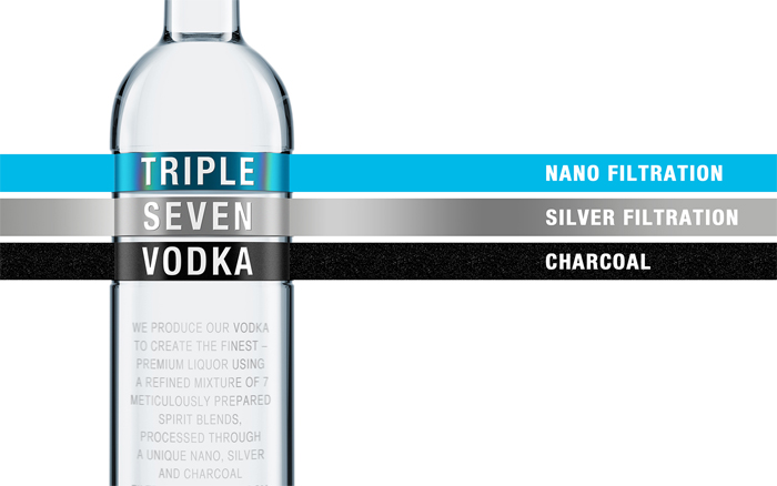 Triple Seven Vodka