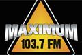 """Рестайлинг логотипа радио """"Максимум"""""""