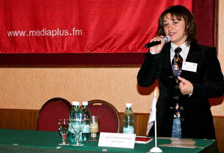 Анастасия Смирнова, представитель радио рекламного агентства Media Plus