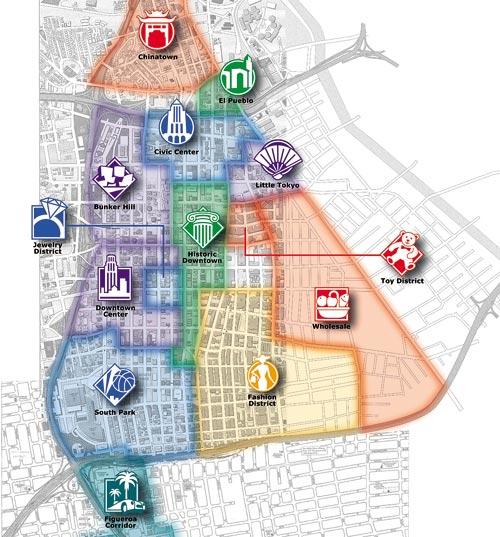 Карта пешеходных маршрутов,