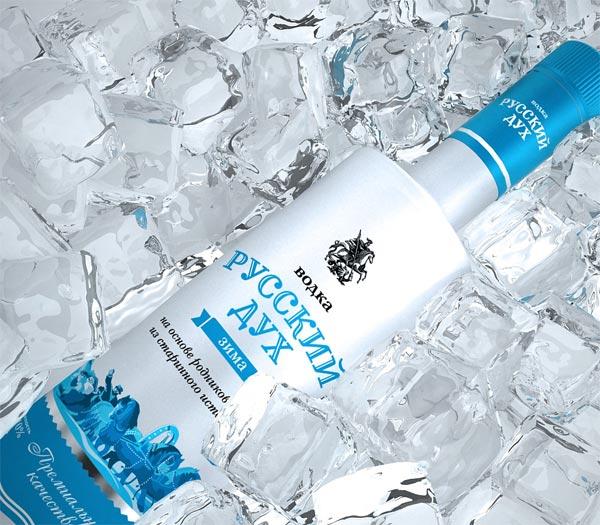 DDC Creative Lab разработало дизайн водки «Русский дух»