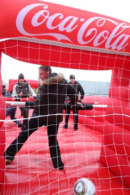 Coca-Cola привезла в Россию Кубок мира по футболу FIFA