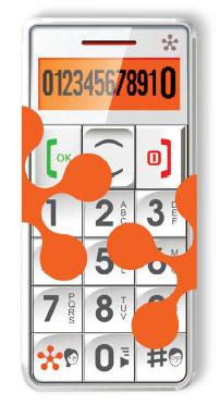 just5®. Телефон с большими кнопками