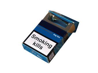 Все сигаретные пачки в Австралии лишат логотипов