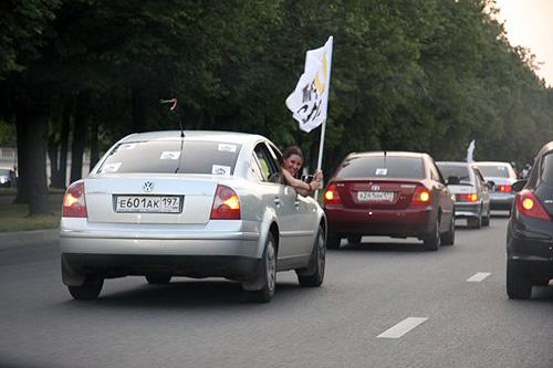 DFM авто-мото пробег по Москве