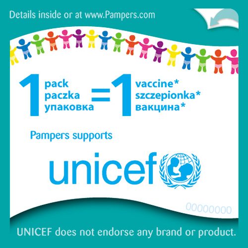 UNICEF и Pampers