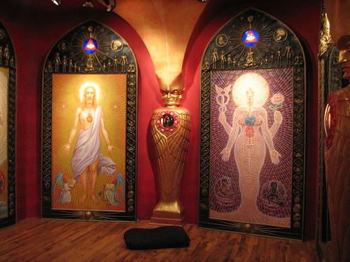 А. Грей. Капелла священных зеркал.