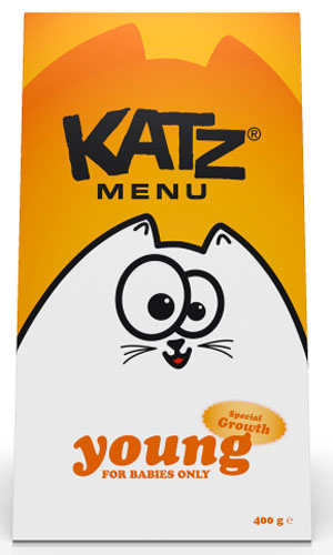 Упаковка кошачьего корма