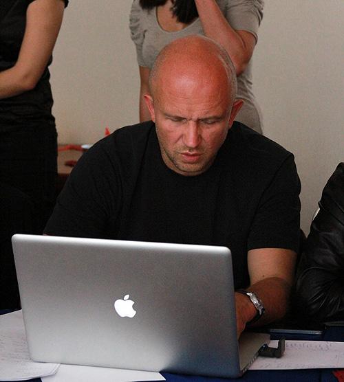 Заседание жюри Red Apple 2010