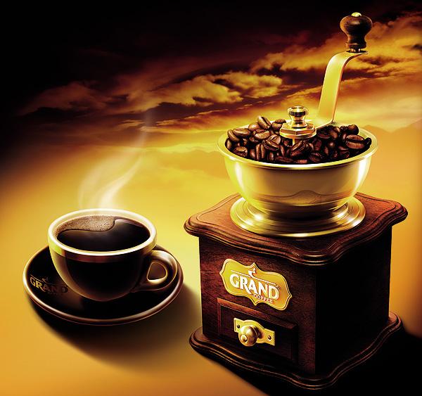 Агентство BQB создает новый изысканный образ кофе «GRAND»