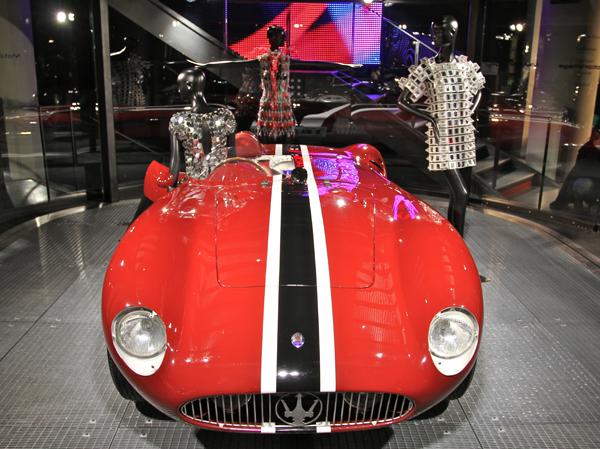 Maserati и Paco Rabanne организовали выставку в Париже