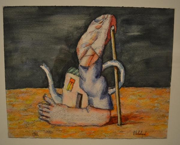 В. Пивоваров. «Беглец». 1986