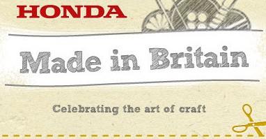 Honda. Made in Britain