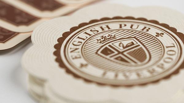 Дизайнеры из Reynolds and Reyner, разработали логотип, фирменный стиль и стандарты визуальной идентификации первого настоящего английского паба в Украине.