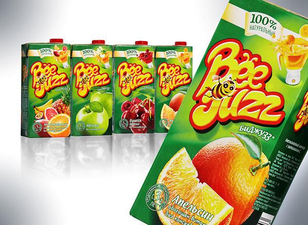 В сегменте соков и нектаров в упаковке Тетра Пак на российском рынке появилась новая марка —нектары «Биджузз»