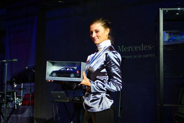 Главная идея Mercedes-Benz Diesel Tour - «Быть первым» - создать настоящий «мужской» мир, где любой может быть самим собой.