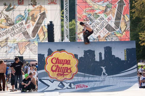 Интеграция Chupa Chups