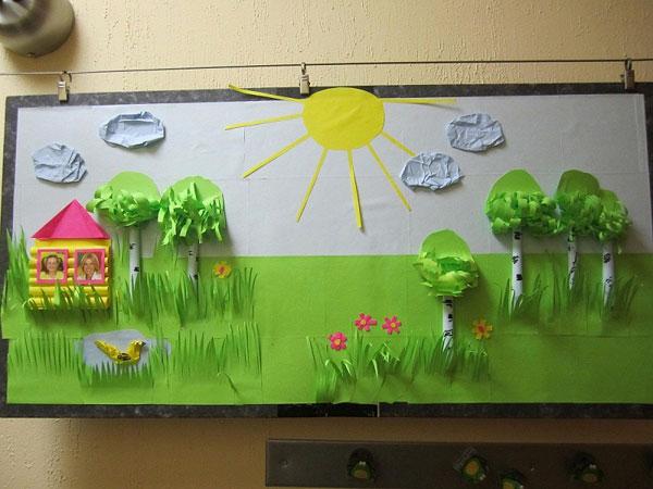 Поделки в детский сад на тему мой детский сад 80