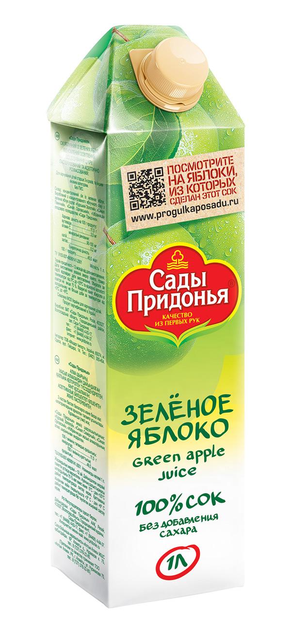 Упаковка сока