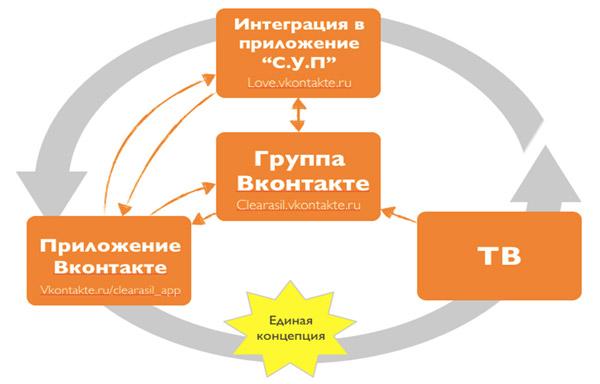 Схема интеграции Сlearasil