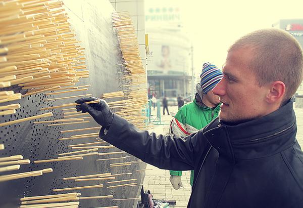 Новую достопримечательность подарили Екатеринбургу его жители под чутким руководством РА «Восход».