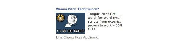 Реклама на Facebook от AppSumo