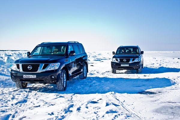 Nissan и Ark Connect: юбилейное покорение Байкала