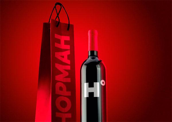 Логотип и фирменный стиль для сети алкомаркетов