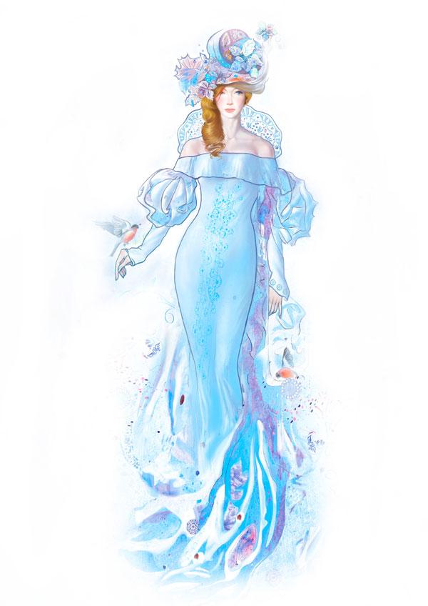 Наскального рисунка каждая богиня