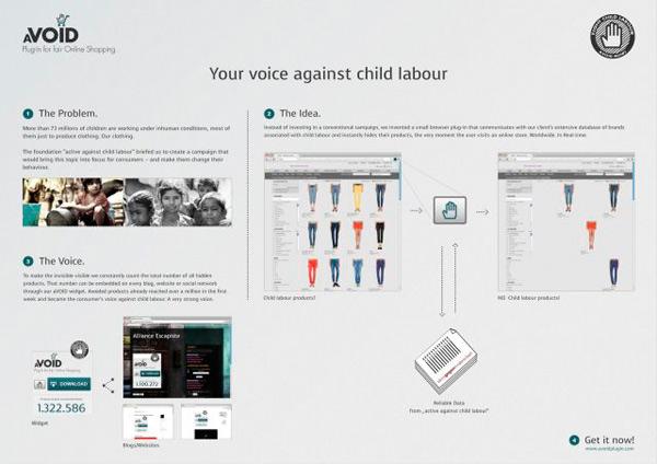 Эта кнопка помогает избежать детского труда