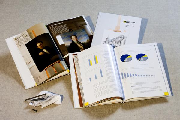 Годовой отчет Райффайзен Банк приобрел черты альбома по искусству  Годовой отчет Райффайзен Банк приобрел черты альбома по искусству