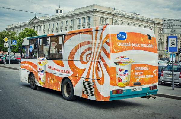 Веселые автобусы от Valio