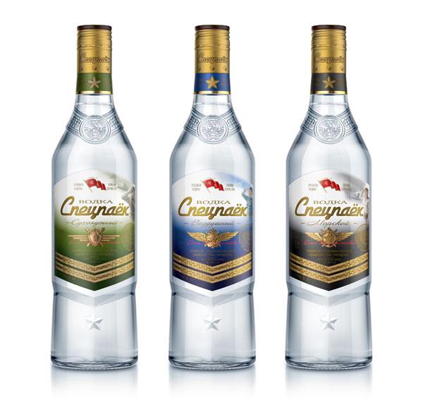 """""""Золотая мануфактура"""" вывела на рынок водку """"Спецпаёк"""""""