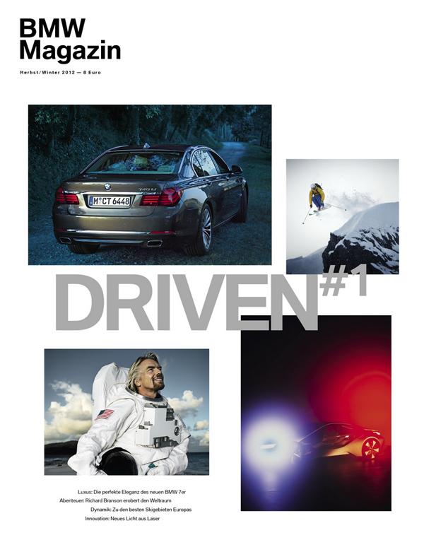 BMW выпустит журнал о стиле жизни