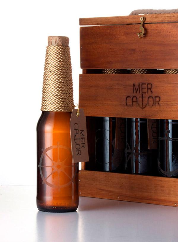 Пиво Mercator имитирует одноименный корабль