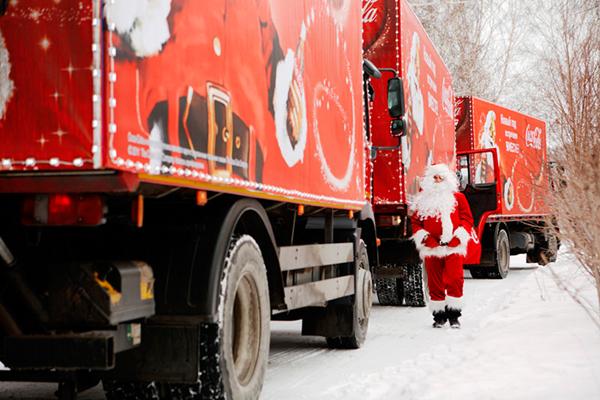 Coca-Cola отправила в путь свой «Рождественский Караван»