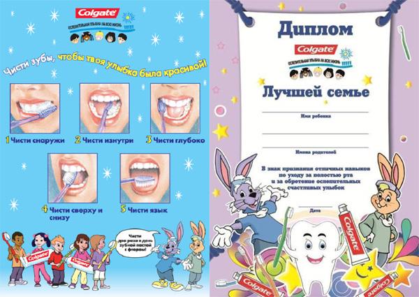 Картинки зубной щетки и пасты