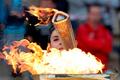 Факельное шествие на Красном Октябре