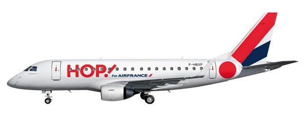 Начиная с лета 2013 года, HOP.  Будет предлагать рейсы из аэропорта...  Ссылка на статью.
