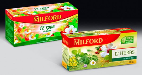 Старый дизайн Milford от Clёver