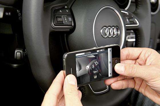 Audi выпустила AR-приложение для водителей