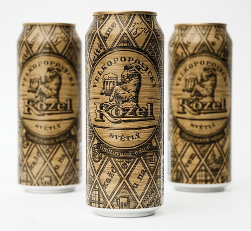 упаковка Kozel Svetly