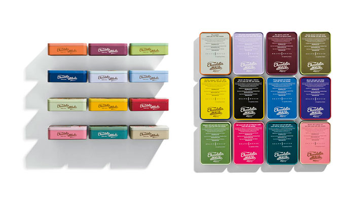 упаковка шоколада от Brandhouse