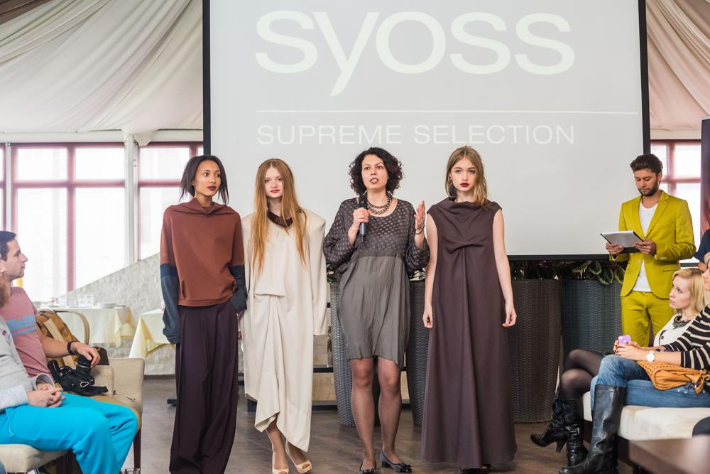 фэшн-показ «Модная осень с Syoss Supreme Selection»
