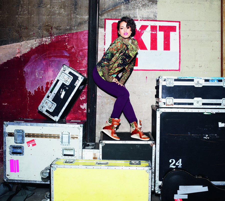 третья коллекция Reebok Classic X Alicia Keys