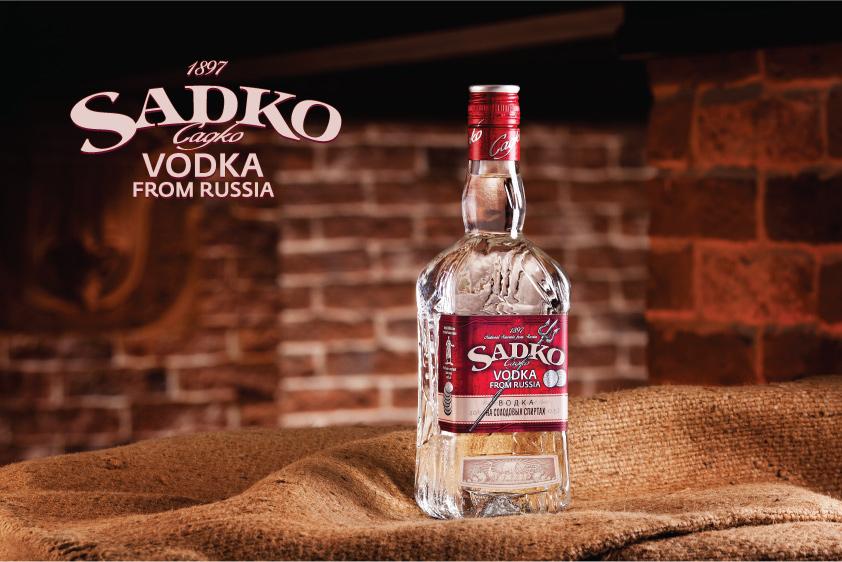 """Новый бренд водки премиум-класса """"Sadko"""""""