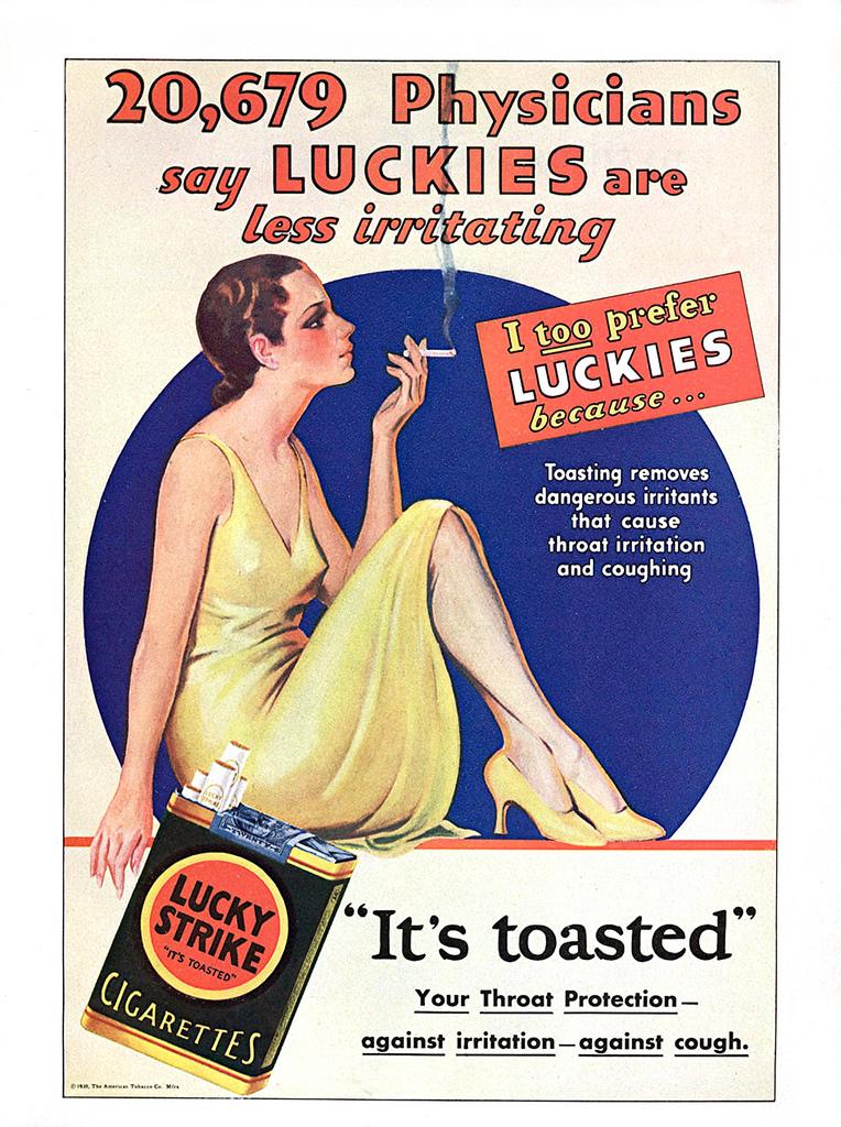 Lucky Strike 1930s
