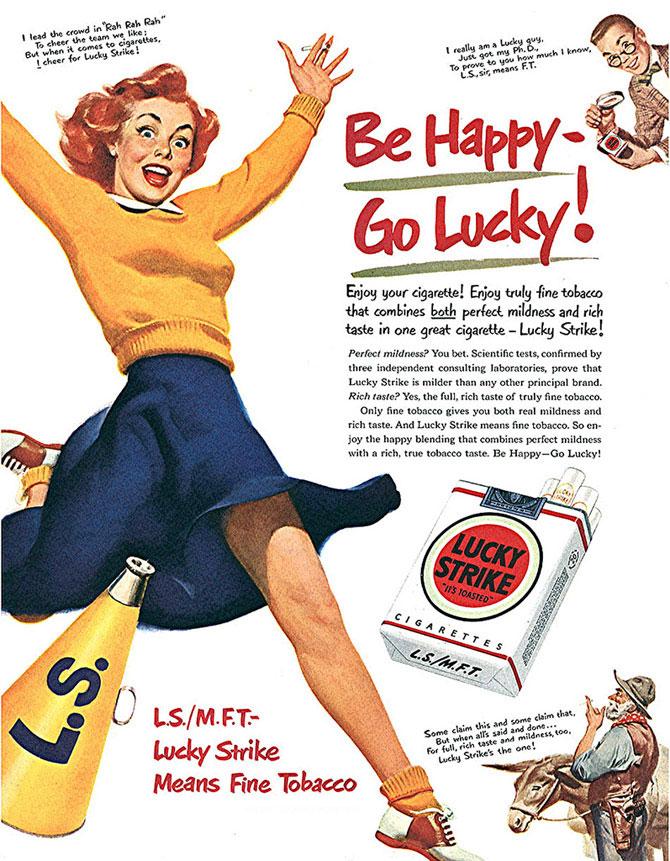 1950, Lucky Strike