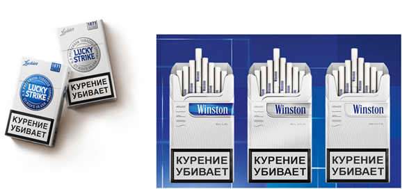 Lucky Strike в России не нарушает интеллектуальных прав конкурентов