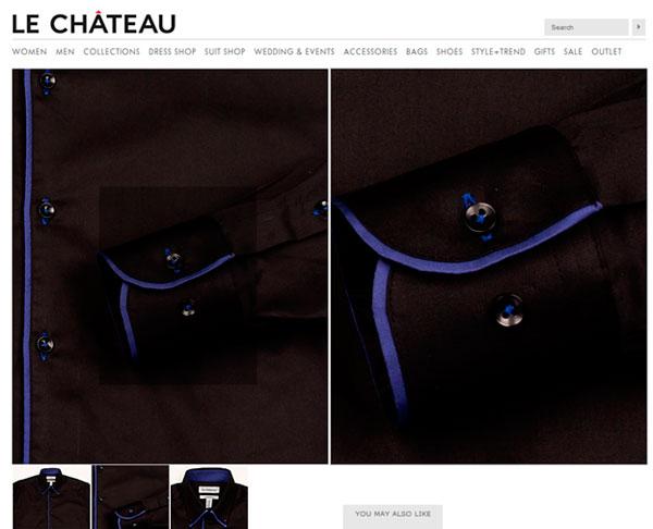 Le Chateau внимателен к деталям